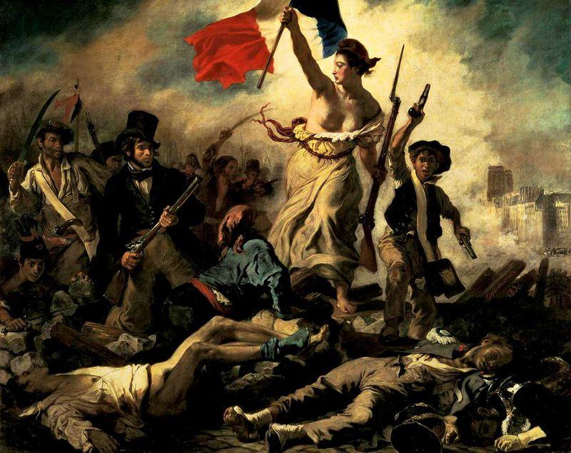 Eugène-Delacroix-Liberty-painting