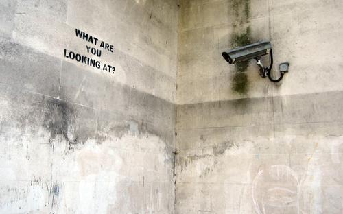 BanksyLookingAt